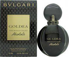 Bvlgari Goldea The Roman Night Absolute Eau de Parfum 75ml Spray