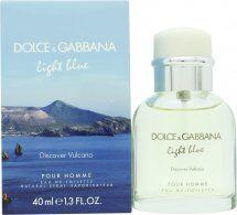 Dolce & Gabbana Light Blue Discover Vulcano Pour Homme Eau de Toilette 40ml Spray