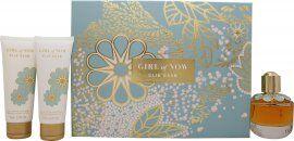 Elie Saab Girl of Now Gift Set 50ml EDP + 75ml Body Lotion + 75ml Shower Gel