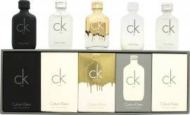 Calvin Klein Deluxe Fragrance Travel Collection Miniature Gift Set 5 Pieces