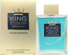 Antonio Banderas King of Seduction Absolute Eau de Toilette 200ml Spray