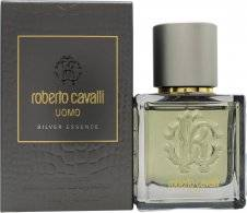 Roberto Cavalli Uomo Silver Essence Eau de Toilette 40ml Spray