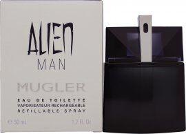 Thierry Mugler Alien Man Refillable Eau de Toilette 50ml Spray