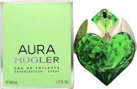 Thierry Mugler Aura Eau de Toilette 50ml Refillable Spray