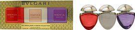 Bvlgari Omnia Jewels Charms Fragrance Gift Set 15ml Crystalline EDT + 15ml Coral EDT + 15ml Amethyste EDT