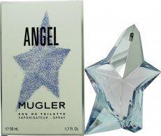 Thierry Mugler Angel Eau de Toilette 50ml Spray - Refillable