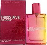 Zadig & Voltaire This Is Love! for Her Eau de Parfum 50ml Spray