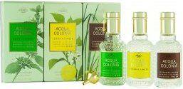 Muelhens 4711 Acqua Colonia Gift Set 3 x 30ml Eau de Cologne (Melissa & Verbena + Lemon & Ginger + Vetyver & Bergamot)