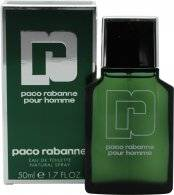 Paco Rabanne Pour Homme Eau de Toilette 50ml Suihke