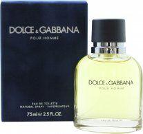 Dolce & Gabbana Pour Homme Eau De Toilette 75ml Suihke