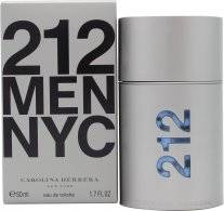 Image of Carolina Herrera 212 Men Eau De Toilette 50ml Suihke