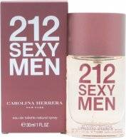 Image of Carolina Herrera 212 Sexy Men Eau De Toilette 30ml Suihke