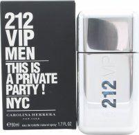 Carolina Herrera 212 VIP Men Eau de Toilette 50ml Suihke