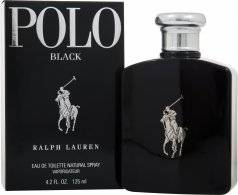Ralph Lauren Polo Black Eau de Toilette 125ml Suihke