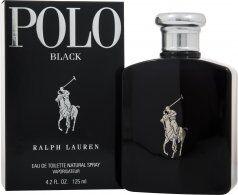 Ralph Lauren Polo Black Eau de Toilette 125ml Suihke