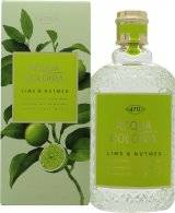 Mäurer & Wirtz 4711 Acqua Colonia Lime & Nutmeg Eau de Cologne 170ml Suihke