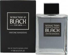 Antonio Banderas Seduction In Black Eau de Toilette 200ml Suihke