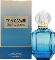 Roberto Cavalli Paradiso Azzurro Eau de Parfum 75ml Spray