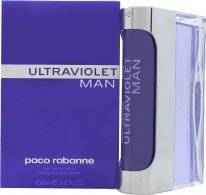 Paco Rabanne Ultraviolet Man Eau De Toilette 100ml Suihke