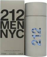 Image of Carolina Herrera 212 Men Eau De Toilette 100ml Suihke