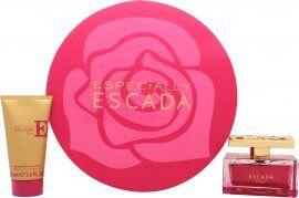 Escada Especially Elixir Gift Set 75ml EDP Spray + 50ml Body Lotion