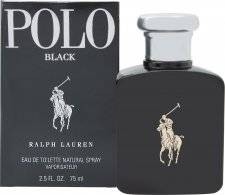 Ralph Lauren Polo Black Eau de Toilette 75ml Suihke