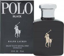 Ralph Lauren Polo Black Eau de Toilette 75ml Suihke