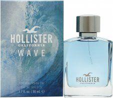 Hollister Wave For Him Eau de Toilette 50ml Spray