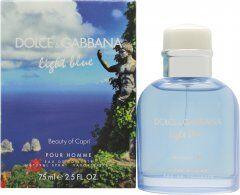 Dolce & Gabbana Light Blue Pour Homme Beauty of Capri Eau de Toilette 75ml Spray