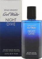 Davidoff Cool Water Night Dive Partavesi 75ml Roiske