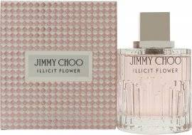 Image of Jimmy Choo Illicit Flower Eau de Toilette 100ml Spray