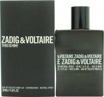 Zadig & Voltaire This is Him Eau de Toilette 50ml Spray