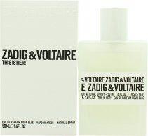 Zadig & Voltaire This is Her Eau de Parfum 50ml Spray