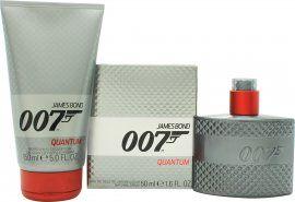 James Bond 007 Quantum Lahjasetti 50ml EDT + 150ml Suihkugeeli
