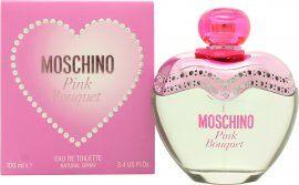 Moschino Pink Bouquet Eau de Toilette 100ml Suihke