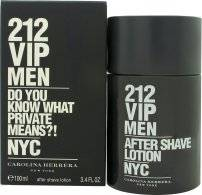 Carolina Herrera 212 VIP Men Aftershave 100ml Roiske