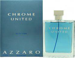 Azzaro Chrome United Eau de Toilette 200ml Spray