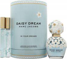 Marc Jacobs Daisy Dream Gift Set 50ml EDT Daisy Dream + 10ml EDT Sweet Dream + 10ml EDT Daydream