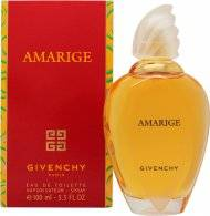 Givenchy Amarige Eau de Toilette 100ml Suihke