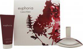 Calvin Klein Euphoria Lahjasetti 50ml EDP + 100ml Vartalovoide