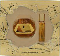 Paco Rabanne Lady Million Gift Set 50ml EDP + 9ml Lady Million Gold Nail Polish