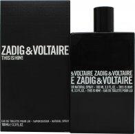 Zadig & Voltaire This is Him Eau de Toilette 100ml Spray