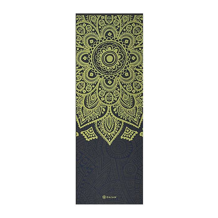 Gaiam 6mm Yoga Mat Sundial Layers  - Size: One Size