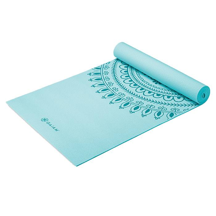 Gaiam Marrakesh Yoga Mat 6MM  - Size: One Size
