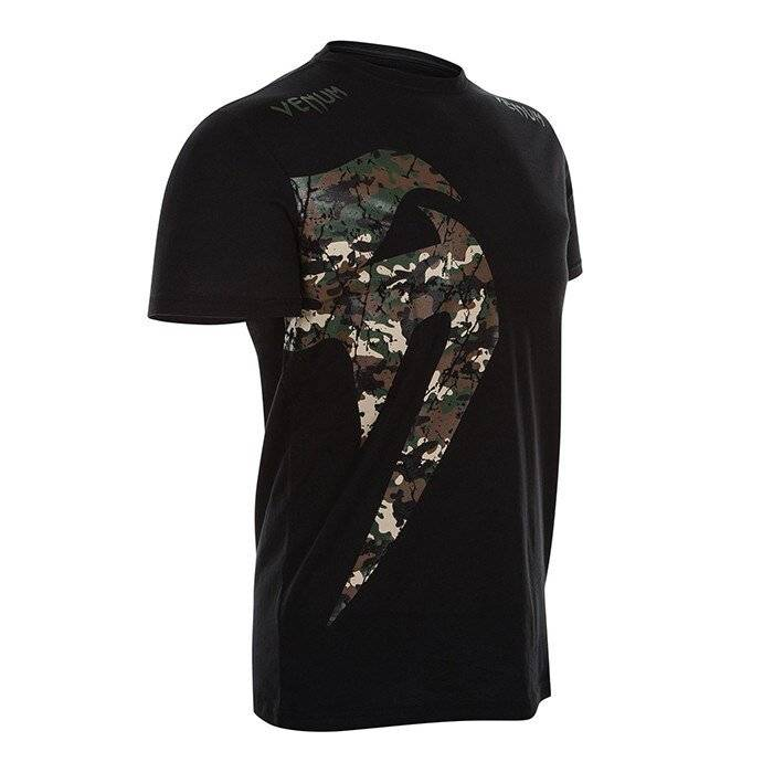 Venum Original Giant T-Shirt, Jungle Camo Black  - Size: Small