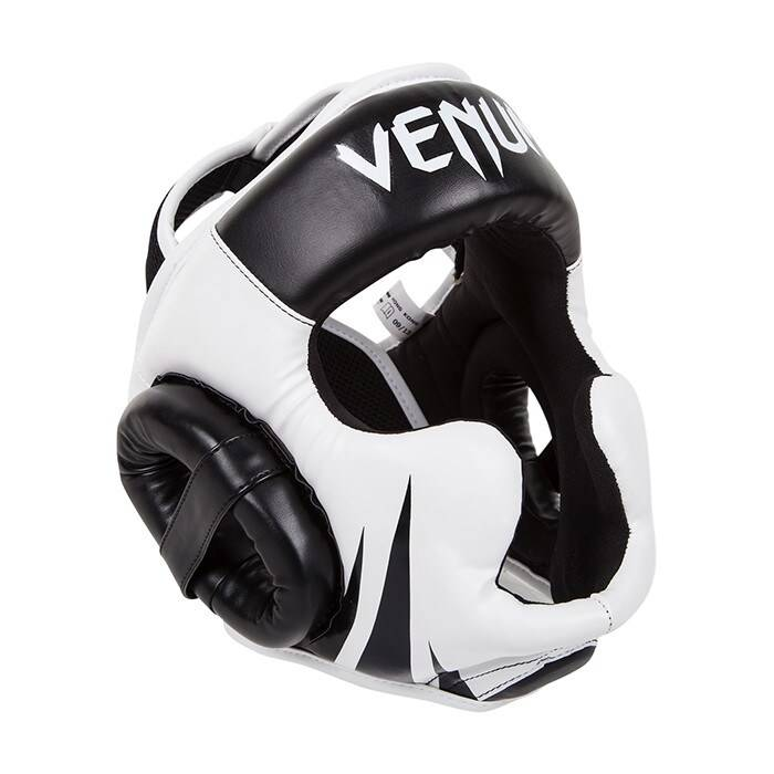 Venum Challenger 2.0 Headgear, Black/Ice  - Size: One Size