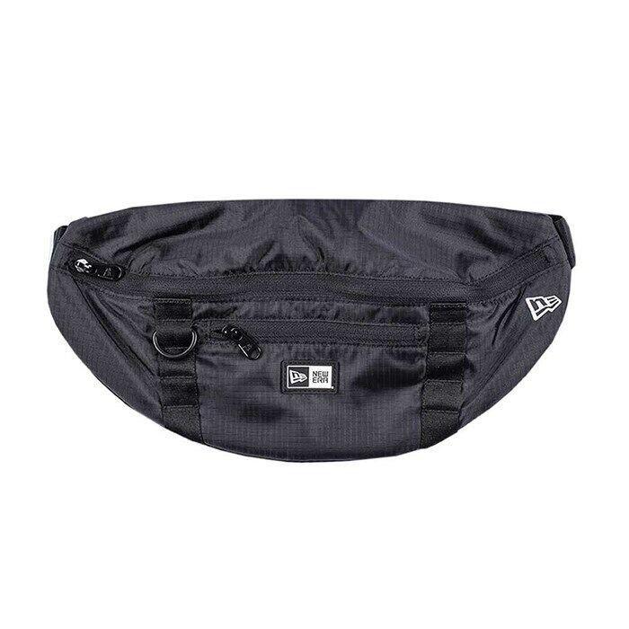 New Era Waist Bag Light, Black/White  - Size: One Size