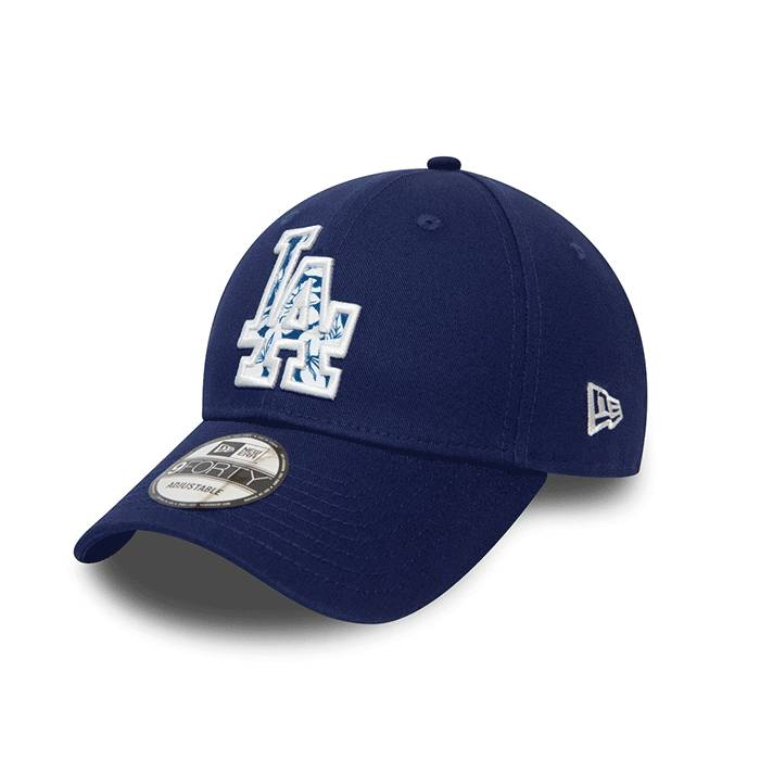 New Era 940 Infill Los Angeles Dodgers, Blue  - Size: One Size