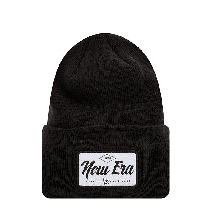 New Era Wide Cuff Patch, Black  - Size: One Size