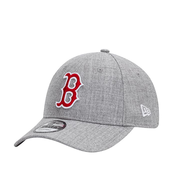 New Era 940 Heather Twill Boston Red Sox, Light Grey  - Size: One Size